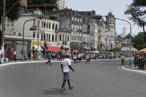 Streets of Salvador, Brazil