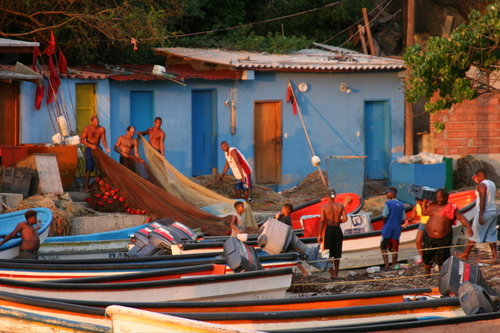 Fishermen in Choroni
