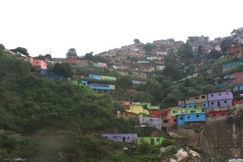 Slums in Caracas